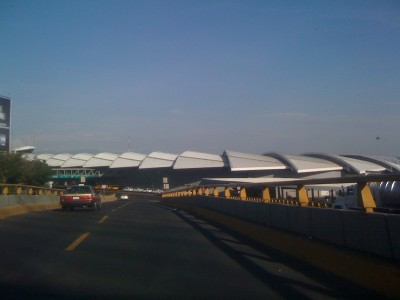hood of mexico city airport